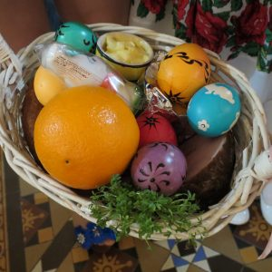 Polish Food Blessing – Easter Saturday Morning