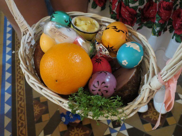 Polish Food Blessing - Easter Saturday Morning
