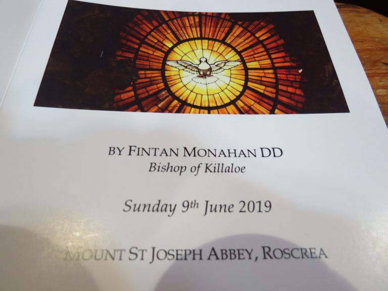Ordination of Dom Malachy Thompson - Mt. St. Joseph Abbey, Roscrea 9th June 2019
