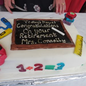 Killeen N.S. – Principal Brid Connolly Retirement Party