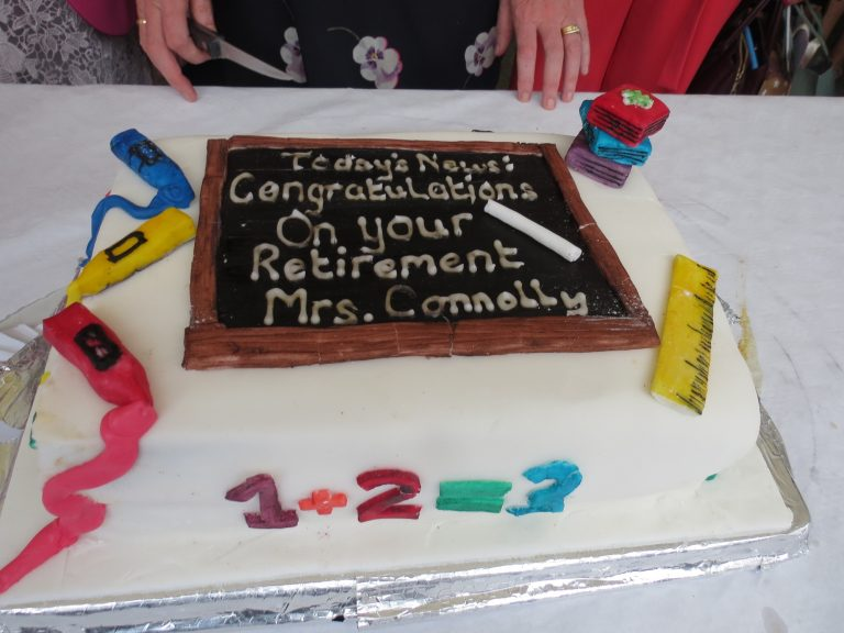 Killeen N.S. - Principal Brid Connolly Retirement Party