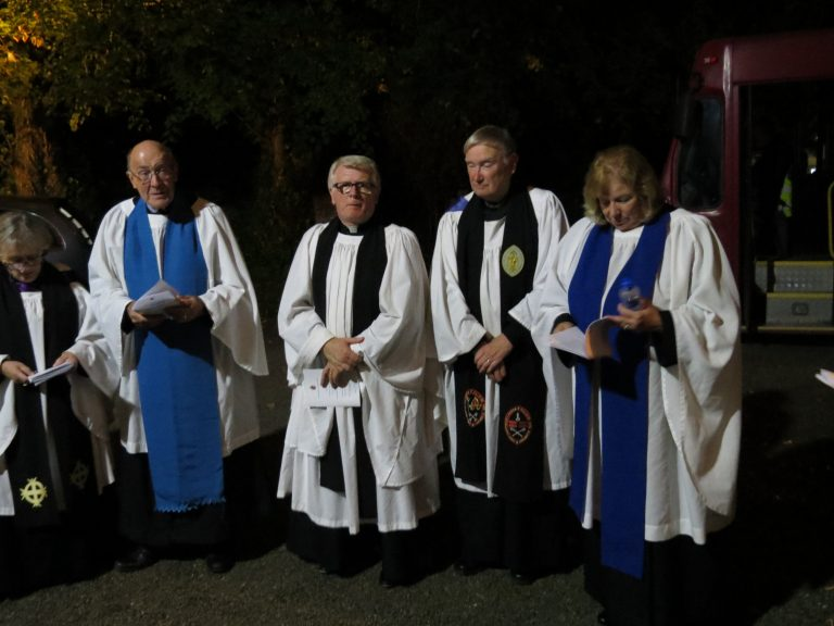 Welcoming of new Church of Ireland Minister, Charles McCartney
