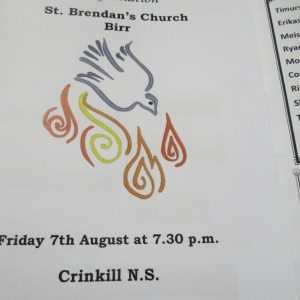 Confirmation 2020 – Crinkill N.S. Friday 7th August