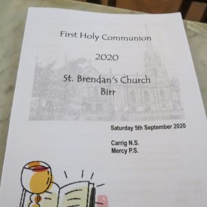 First Communion 2020 – Carrig N.S. & Mercy P.S. – September 5th