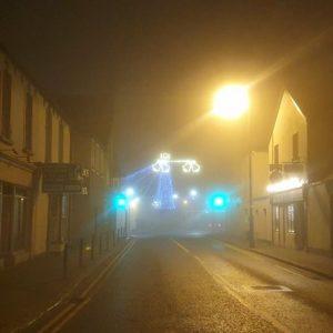 Foggy Birr at Christmas Birr