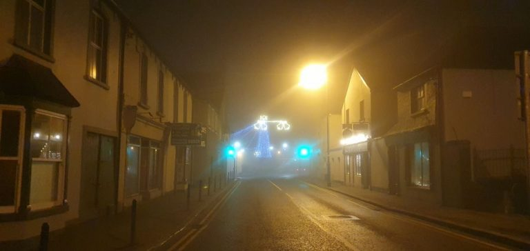 Foggy Birr at Christmas Birr